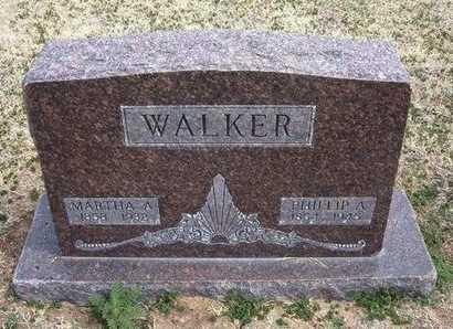 WALKER, MARTHA ANGELINE - Grant County, Kansas | MARTHA ANGELINE WALKER - Kansas Gravestone Photos