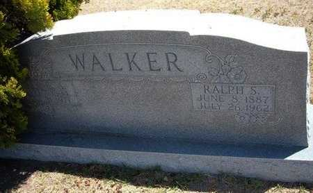 WALKER, RALPH S - Grant County, Kansas | RALPH S WALKER - Kansas Gravestone Photos