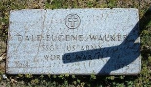 WALKER, DALE EUGENE   (VETERAN WWII) - Grant County, Kansas | DALE EUGENE   (VETERAN WWII) WALKER - Kansas Gravestone Photos