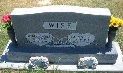WISE, OTEHKA - Grant County, Kansas | OTEHKA WISE - Kansas Gravestone Photos
