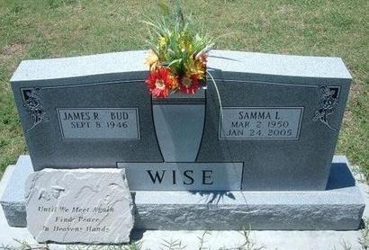 WISE, SAMMA L - Grant County, Kansas | SAMMA L WISE - Kansas Gravestone Photos