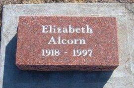 ALCORN, ELIZABETH - Gray County, Kansas | ELIZABETH ALCORN - Kansas Gravestone Photos