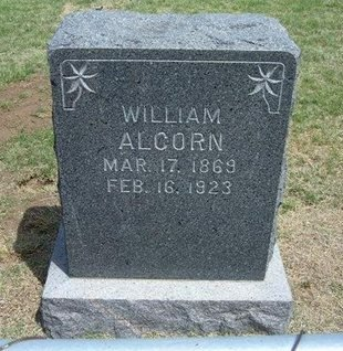 ALCORN, WILLIAM B - Gray County, Kansas | WILLIAM B ALCORN - Kansas Gravestone Photos