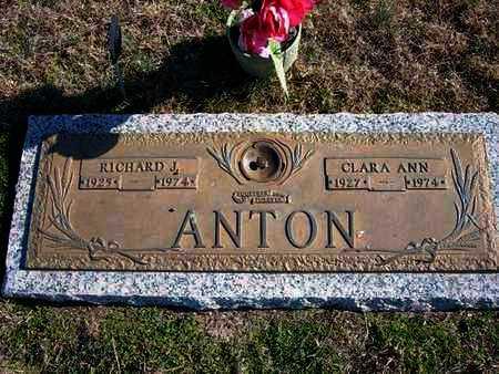 ANTON, RICHARD J - Gray County, Kansas | RICHARD J ANTON - Kansas Gravestone Photos
