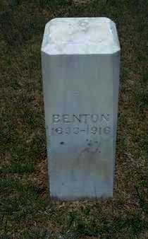 BENTON, HEATH - Gray County, Kansas | HEATH BENTON - Kansas Gravestone Photos