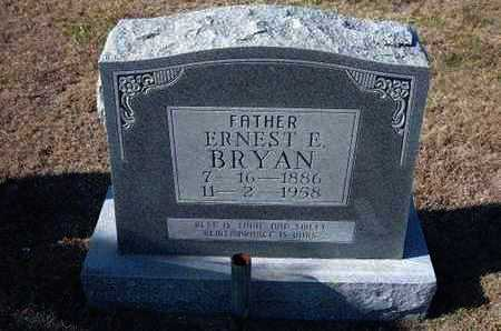 BRYAN, ERNEST E - Gray County, Kansas | ERNEST E BRYAN - Kansas Gravestone Photos