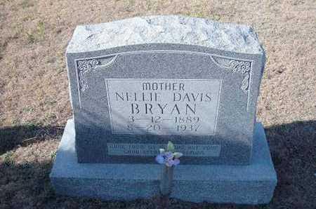 DAVIS BRYAN, NELLIE - Gray County, Kansas | NELLIE DAVIS BRYAN - Kansas Gravestone Photos