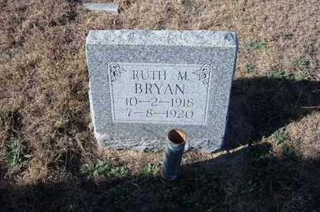 BRYAN, RUTH M - Gray County, Kansas   RUTH M BRYAN - Kansas Gravestone Photos