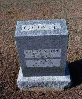 COATE, WILLIAM ARTHUR - Gray County, Kansas | WILLIAM ARTHUR COATE - Kansas Gravestone Photos