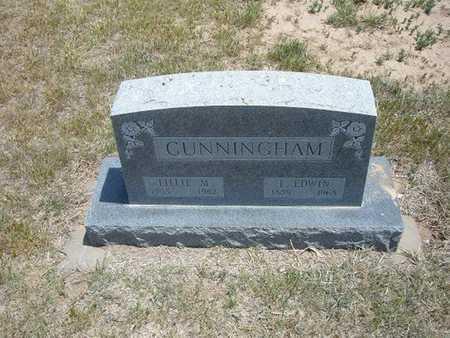 CUNNINGHAM, LAWRENCE EDWIN - Gray County, Kansas | LAWRENCE EDWIN CUNNINGHAM - Kansas Gravestone Photos