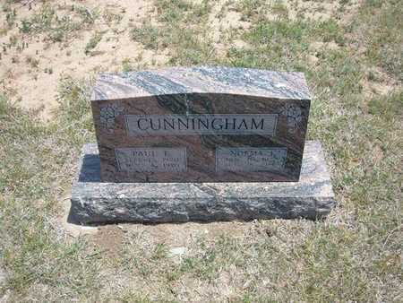 CUNNINGHAM, PAUL E - Gray County, Kansas | PAUL E CUNNINGHAM - Kansas Gravestone Photos