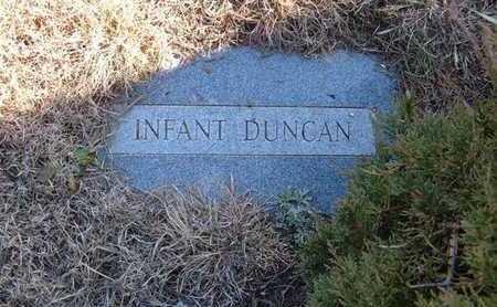 DUNCAN, INFANT - Gray County, Kansas | INFANT DUNCAN - Kansas Gravestone Photos