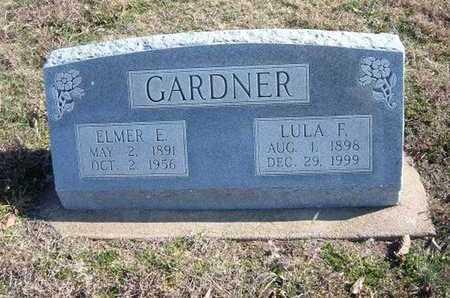 GARDNER, ELMER E - Gray County, Kansas | ELMER E GARDNER - Kansas Gravestone Photos
