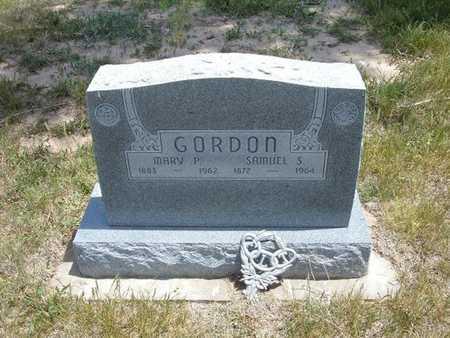 GORDON, SAMUEL S - Gray County, Kansas | SAMUEL S GORDON - Kansas Gravestone Photos