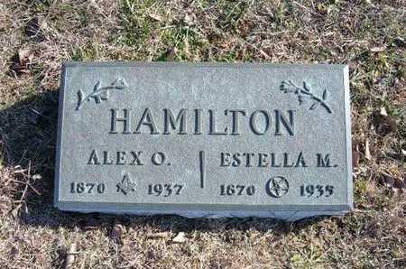 HAMILTON, ESTELLA M - Gray County, Kansas | ESTELLA M HAMILTON - Kansas Gravestone Photos