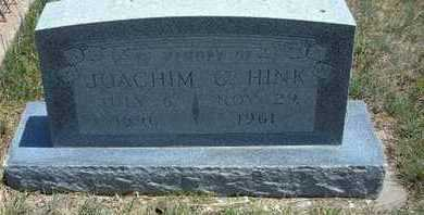 HINK, JOACHIM C - Gray County, Kansas   JOACHIM C HINK - Kansas Gravestone Photos