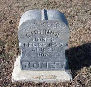 ALLEN JONES, LUCINDA - Gray County, Kansas | LUCINDA ALLEN JONES - Kansas Gravestone Photos