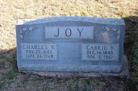 JOY, CARRIE B - Gray County, Kansas | CARRIE B JOY - Kansas Gravestone Photos
