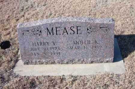MEASE, HARRY V - Gray County, Kansas | HARRY V MEASE - Kansas Gravestone Photos