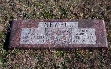 NEWELL, NANCY - Gray County, Kansas | NANCY NEWELL - Kansas Gravestone Photos