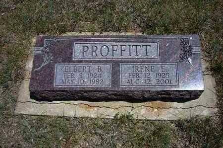 PROFITT, IRENE E - Gray County, Kansas | IRENE E PROFITT - Kansas Gravestone Photos