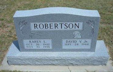 ROBERTSON, KAREN L - Gray County, Kansas | KAREN L ROBERTSON - Kansas Gravestone Photos
