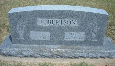ROBERTSON, MABEL MAY - Gray County, Kansas | MABEL MAY ROBERTSON - Kansas Gravestone Photos