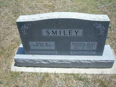 SMILEY, DONNA JEAN - Gray County, Kansas | DONNA JEAN SMILEY - Kansas Gravestone Photos