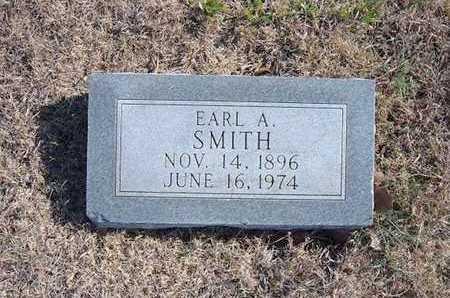 SMITH, EARL L - Gray County, Kansas | EARL L SMITH - Kansas Gravestone Photos