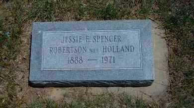 SPENCER, JESSIE E - Gray County, Kansas | JESSIE E SPENCER - Kansas Gravestone Photos