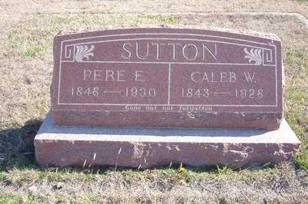 SUTTON, CALEB W - Gray County, Kansas | CALEB W SUTTON - Kansas Gravestone Photos