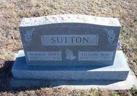 SUTTON, MORRIS HART - Gray County, Kansas | MORRIS HART SUTTON - Kansas Gravestone Photos