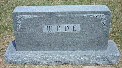 WADE, FAMILY STONE - Gray County, Kansas   FAMILY STONE WADE - Kansas Gravestone Photos