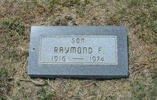 WADE, RAYMOND F - Gray County, Kansas | RAYMOND F WADE - Kansas Gravestone Photos