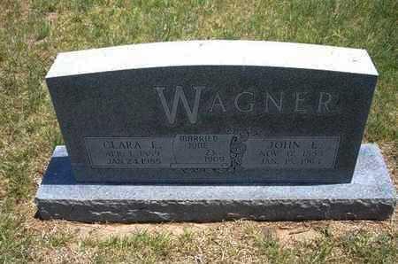 WAGNER, CLARA E - Gray County, Kansas   CLARA E WAGNER - Kansas Gravestone Photos