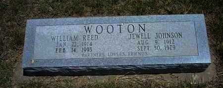 WOOTON, JEWELL - Gray County, Kansas | JEWELL WOOTON - Kansas Gravestone Photos