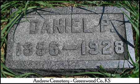 ANDREW, DANIEL PETER - Greenwood County, Kansas | DANIEL PETER ANDREW - Kansas Gravestone Photos