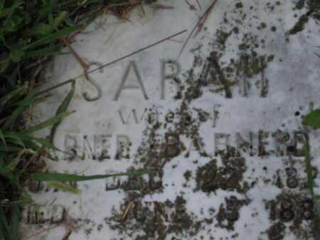 BARNERD, SARAH - Greenwood County, Kansas | SARAH BARNERD - Kansas Gravestone Photos