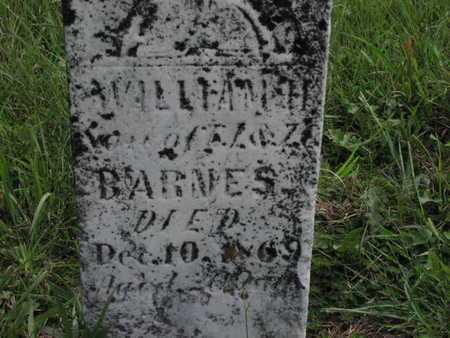 BARNES, WILLIAM H - Greenwood County, Kansas | WILLIAM H BARNES - Kansas Gravestone Photos