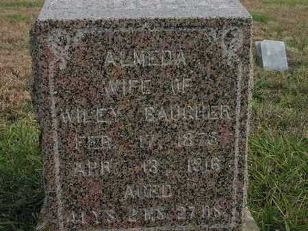 "BAUGHER, ALMEDA ""MEDA"" - Greenwood County, Kansas | ALMEDA ""MEDA"" BAUGHER - Kansas Gravestone Photos"