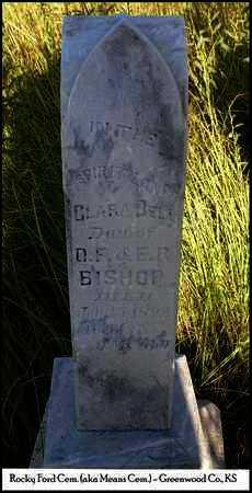 BISHOP, CLARA BELL - Greenwood County, Kansas | CLARA BELL BISHOP - Kansas Gravestone Photos
