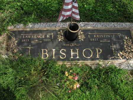 BISHOP, LAWRENCE HOWARD  (VETERAN WWII) - Greenwood County, Kansas | LAWRENCE HOWARD  (VETERAN WWII) BISHOP - Kansas Gravestone Photos