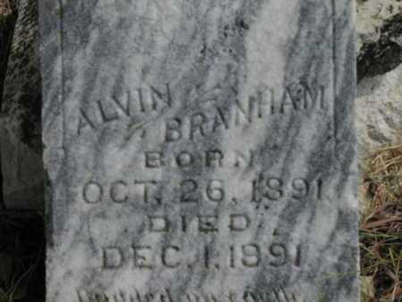 BRANHAM, ALVIN - Greenwood County, Kansas   ALVIN BRANHAM - Kansas Gravestone Photos