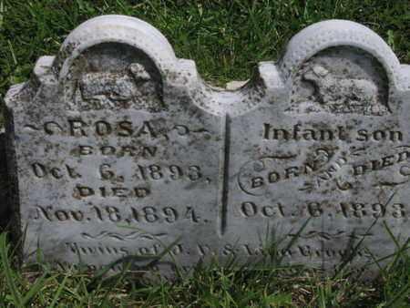 BROOKS, ROSA - Greenwood County, Kansas | ROSA BROOKS - Kansas Gravestone Photos