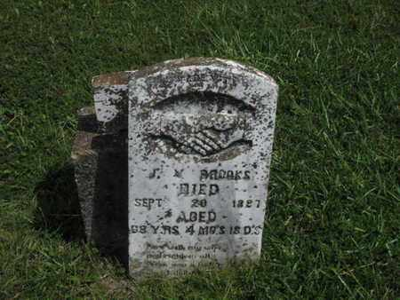 BROOKS, JEREMIAH VARDIMAN - Greenwood County, Kansas | JEREMIAH VARDIMAN BROOKS - Kansas Gravestone Photos