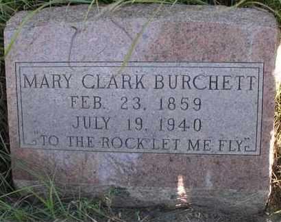 BURCHETT, MARY A - Greenwood County, Kansas | MARY A BURCHETT - Kansas Gravestone Photos