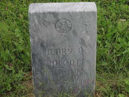CHILCOTT, HENRY O - Greenwood County, Kansas | HENRY O CHILCOTT - Kansas Gravestone Photos
