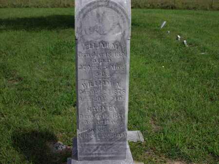 DURHAM, ELIJAH M - Greenwood County, Kansas | ELIJAH M DURHAM - Kansas Gravestone Photos