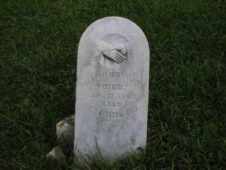 HALLETT, WILLIAM H - Greenwood County, Kansas | WILLIAM H HALLETT - Kansas Gravestone Photos