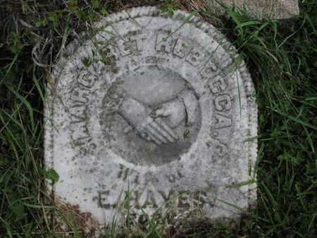 "BARNES HAYES, MARGARET  REBECCA ""BECKY"" - Greenwood County, Kansas | MARGARET  REBECCA ""BECKY"" BARNES HAYES - Kansas Gravestone Photos"